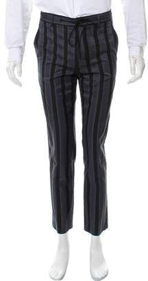 Christian Dada Linen Stripe Trousers w/ Tags