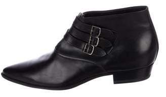 Saint Laurent 2014 Leather Ankle Boots