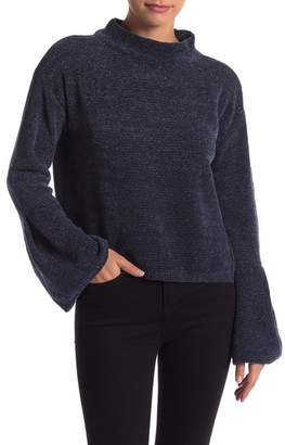 Melrose and Market Mock Neck Knit Sweater (Regular & Petite)