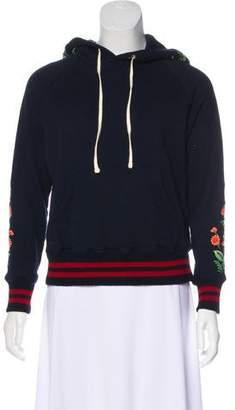 Mother Embroidered Hooded Sweatshirt