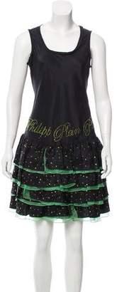 Philipp Plein Embellished Knee-Length Dress