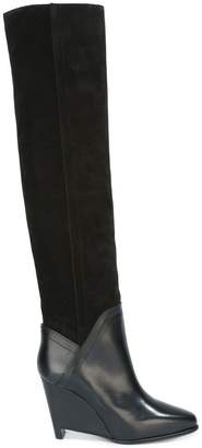 Maison Margiela wedge knee high boots
