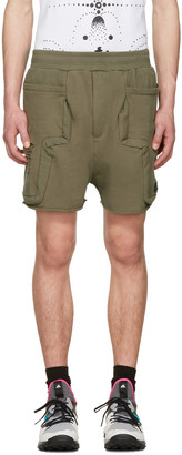 Perks and Mini Green Anarchaic Duplo Shorts $245 thestylecure.com