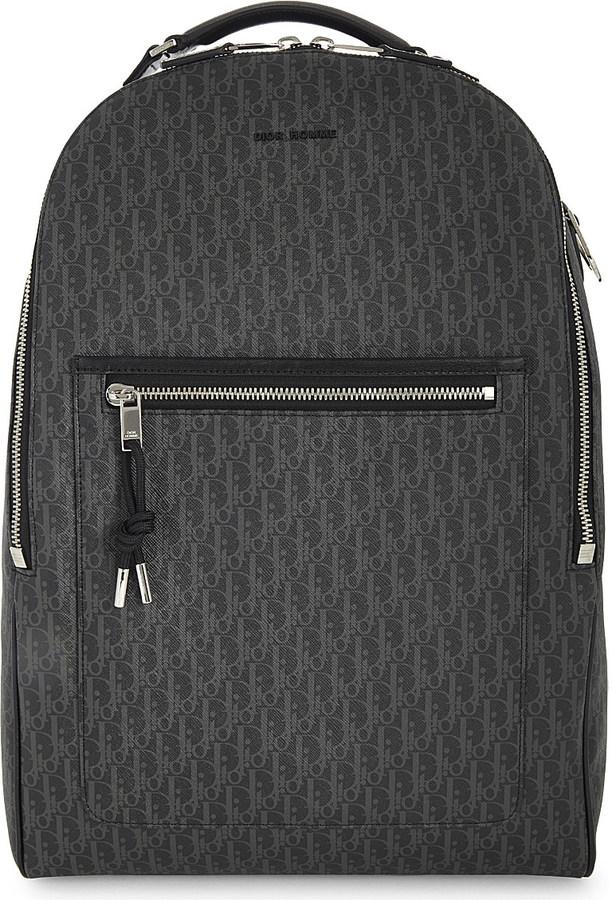 Christian Dior Dior Homme Darklight logo canvas backpack