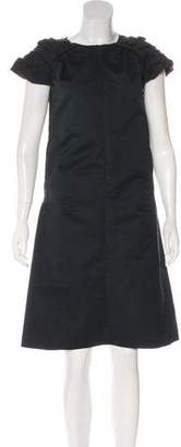 Marni Ruffled Midi Dress