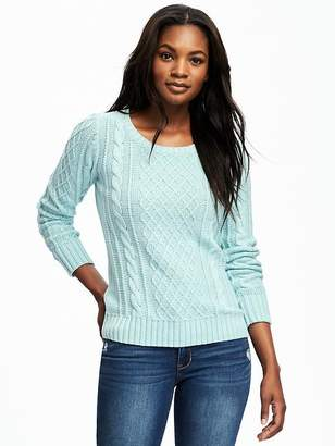 Classic Cable-Knit Sweater for Women $34.94 thestylecure.com