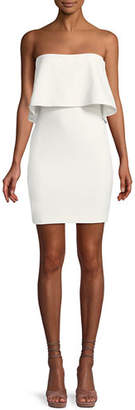 LIKELY Driggs Strapless Popover Mini Dress