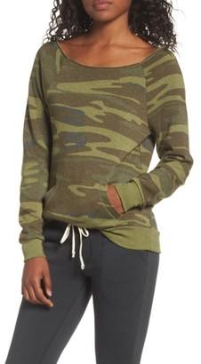 Women's Alternative Maniac Camo Fleece Sweatshirt $60 thestylecure.com