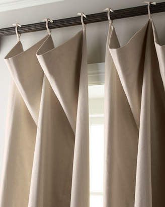 "Thomas Laboratories Misti Modern Luxuries Each 120""L Tie-Top Curtain"