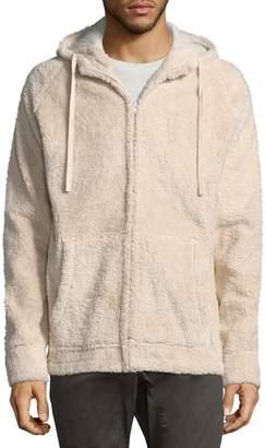 Zanerobe Men's Polar Fleece Zip-Front Hoodie