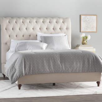 House of Hampton Hunstanton Upholstered Sleigh Bed