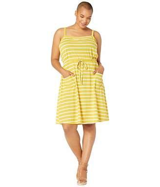 Junarose Plus Size Tilda Strap Above Knee Dress