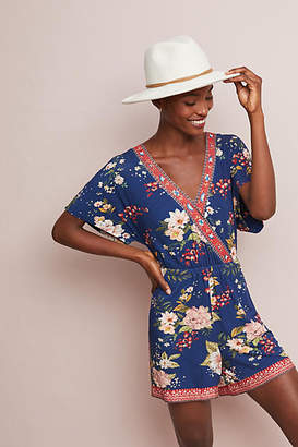 Anthropologie Farm Rio for Farm Rio Estelle Floral Romper
