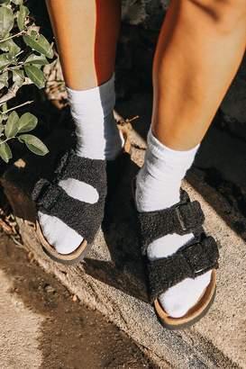 Birkenstock Arizona Papillio Platform Fur Sandal