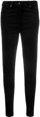 D-Exterior D.Exterior velvet skinny-fit trousers