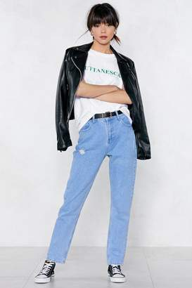 Nasty Gal Laid-Back Mom Jeans