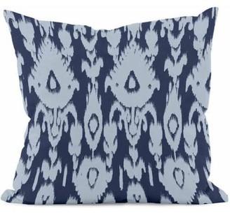 "Generic Simply Daisy Ikat Print Decorative Pillow, 16"" x 16"""