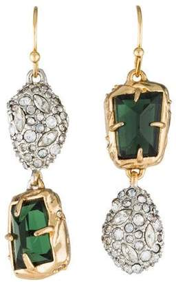 Alexis Bittar Mismatched Stone Drop Earrings