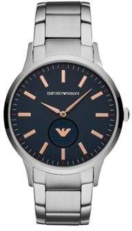 Emporio Armani Mens Three-Hand Renato Dress Watch