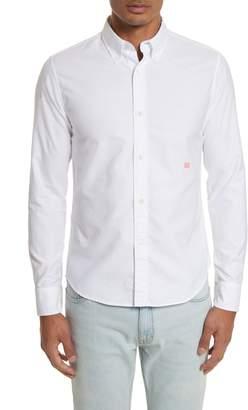 Acne Studios Ohio Face Patch Oxford Shirt