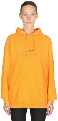 Wake Up Cotton Sweatshirt Hoodie