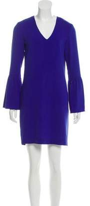 Charles Henry Long Sleeve Mini Dress