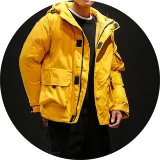 Sunshinejourney-Jackets Men Winter Coats Hooded Down Jackets GoodMen Loose Parkas Men Winter Outwear Jackets