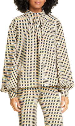 Stine Goya Eddy Gingham Blouse