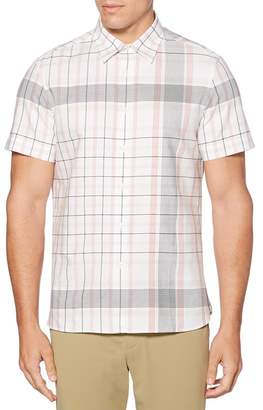 Perry Ellis Plaid Print Regular Fit Shirt