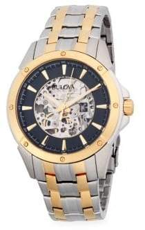 Bulova Two-Tone Stainless Steel Bracelet Watch