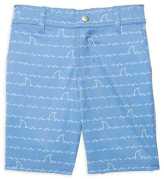 c8d06d3345 Hatley Little Boy's & Boy's Shark Fin Swim Shorts