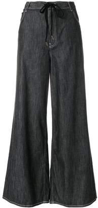 MM6 MAISON MARGIELA five pocket palazzo trousers