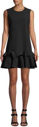 Ralph Lauren Mestiza New York Sleeveless Dress w/ Godet Hem