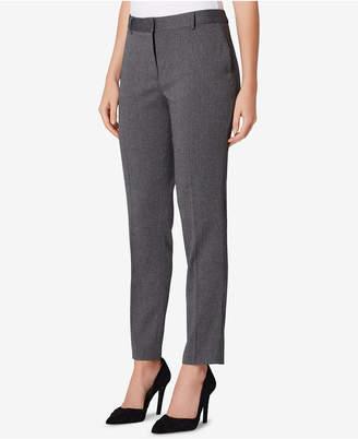 Tahari ASL Petite Herringbone Trouser Pants