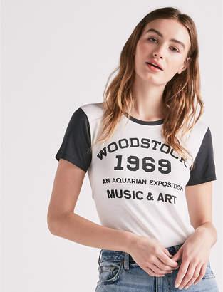 Lucky Brand WOODSTOCK COLOR BLOCK TEE