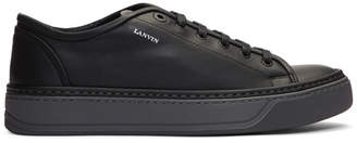 Mens Specchio-Wrapped Leather Sneakers Lanvin THAbf2cR