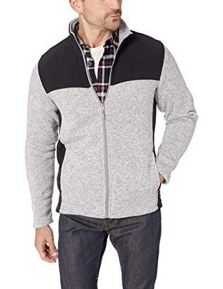Charles River Apparel Men's Concord Sweater Fleece Full-Zip Jacket