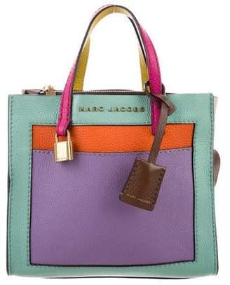 Marc Jacobs Rainbow Colorblock Satchel