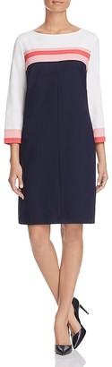 BASLER Striped Shift Dress $650 thestylecure.com