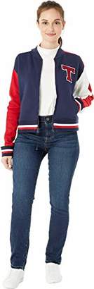 Tommy Hilfiger Adaptive Women's Varsity Jacket with Magnetic Zipper
