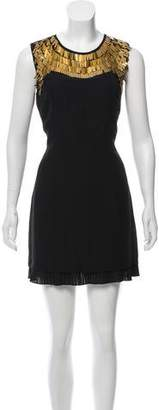 Ted Baker Embellished Sleeveless Mini Shift Dress w/ Tags