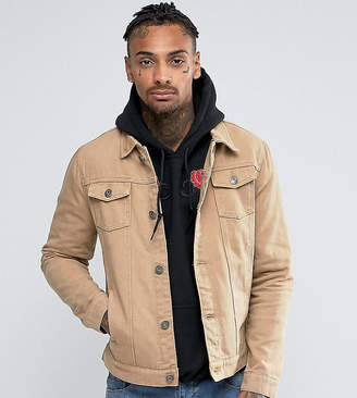 224b3e56bd5 Mens Brown Denim Jackets - ShopStyle UK