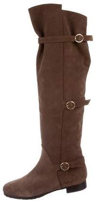 O Jour Suede Over-The-Knee Boots