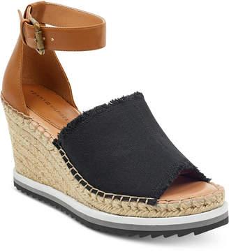 Tommy Hilfiger Yavino Espadrille Platform Wedge Sandals Women's Shoes