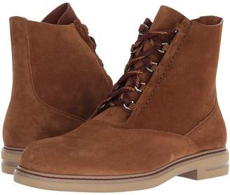 Etro Suede Lace-Up Boot Men's Boots