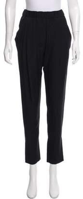 3.1 Phillip Lim Silk Mid-Rise Skinny Pants
