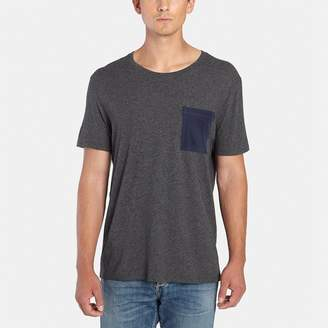 ATM Anthony Thomas Melillo Short-Sleeve Crew Silk Pocket Tee