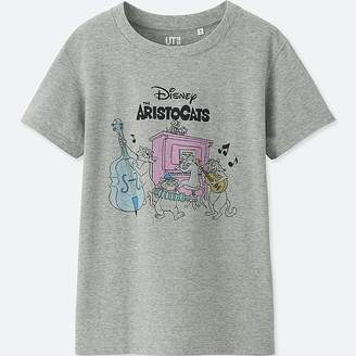 Uniqlo Women's Sounds Of Disney Short-sleeve Graphic T-Shirt
