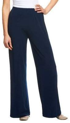 Bob Mackie Bob Mackie's Wide Leg Regular Length Knit Pants
