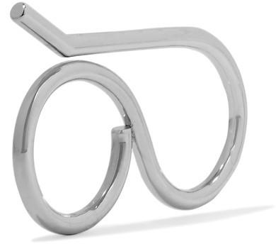 Balenciaga Balenciaga - Silver-tone Ring - M